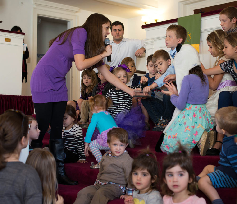 Reflecting on Baptism & Children's Ministry